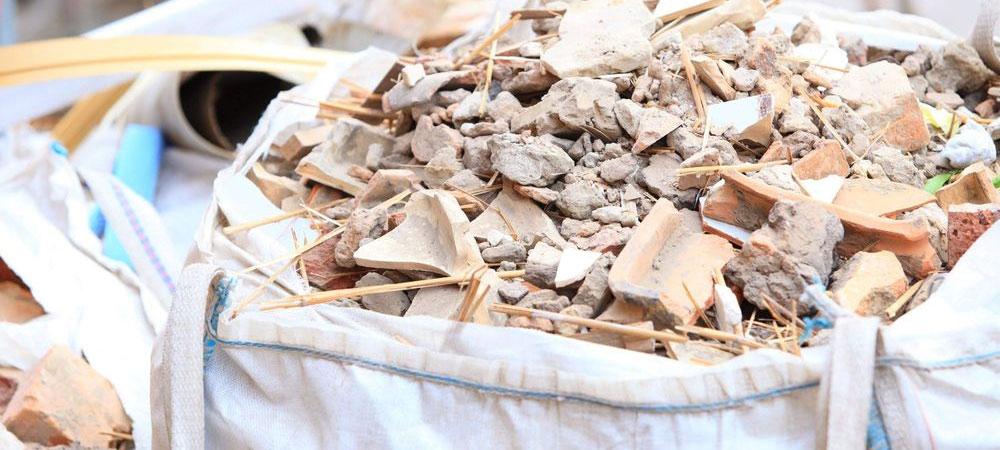 Sacos para escombros en Santander
